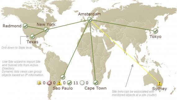 Savision live maps